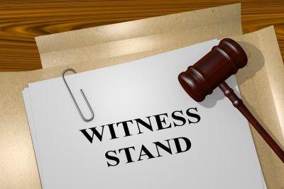 "Illustration of ""Witness Stand"""